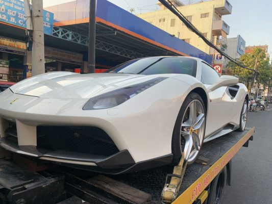 Son xe ô tô Vũng Tàu
